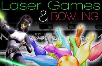 Bowling and Laser games in Lannion