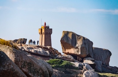 Photo - lighthouse of Men Ruz in Ploumanac'h